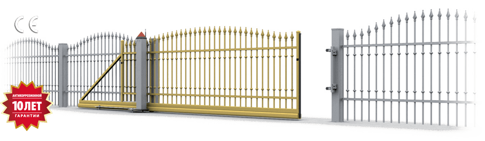 Ворота откатные wisniowski