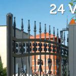 Напряжение питания ворот 24