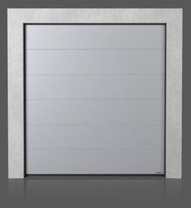 Промышленные секционные ворота без формировки (G)