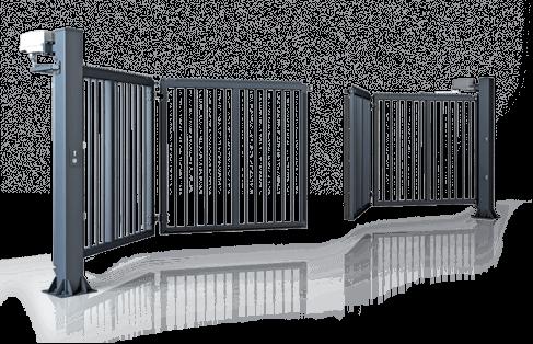 Промышленные двустворчатые ворота V-King Wisniowski