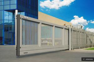Промышленные откатные ворота Wisniowski