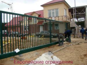 Ворота консольные Robusta R 2000 ширина проезда 7м