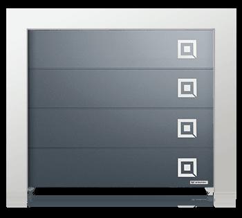 Секционные ворота Prime с апликацией wisniowski