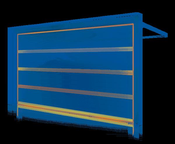 Секционные ворота UniTherm с теплоизоляцией