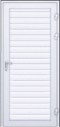 Двери из профиля AW 100