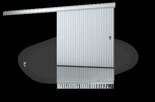 Откатные подвесные ворота Wisniowski